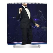 Singer Michael Buble Shower Curtain