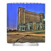 Michigan Central Station Detroit Mi Shower Curtain