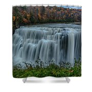 Middle Falls At Letchworth State Park Shower Curtain