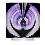 Midnight Bolero Shower Curtain