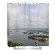 Mighty Miss Shower Curtain