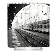 Milan Central Station Shower Curtain