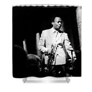 Miles Davis At The Penthouse Shower Curtain