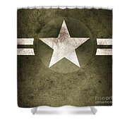 Military Army Star Background Shower Curtain