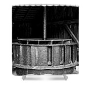 Mill Wheel Shower Curtain