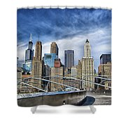 Millennium Skyline  Shower Curtain