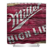Miller High Life Shower Curtain