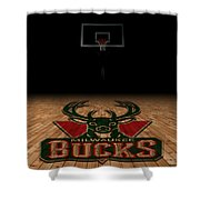 Milwaukee Bucks Shower Curtain