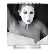 Mime Shower Curtain