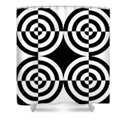 Mind Games 5 Shower Curtain