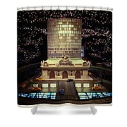 Mini Grand Central Shower Curtain