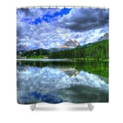 Mirror In The Sky Shower Curtain