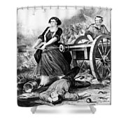 Molly Pitcher (c1754-1832) Shower Curtain