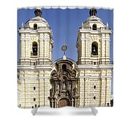 Monastery Of San Francisco - Lima Peru Shower Curtain