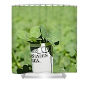Money And Good Luck Shower Curtain