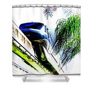Monorail Shower Curtain