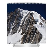 Mont Blanc Massif Shower Curtain
