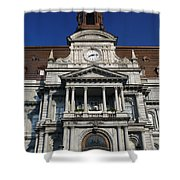 Montreal City Hall Shower Curtain