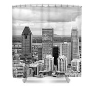 Montreal View Shower Curtain