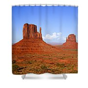 Monument Valley Shower Curtain