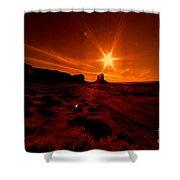 Monument Valley -utah  Shower Curtain