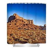 Monument Valley -utah V5 Shower Curtain