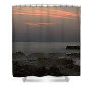Moonrise Coral Cove Shower Curtain
