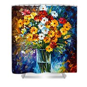 Morning Charm Shower Curtain by Leonid Afremov