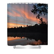 Morning Stillness Shower Curtain