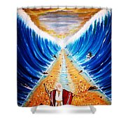 Moses. Shower Curtain