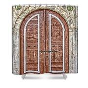 Mosque Doors 09 Shower Curtain