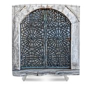 Mosque Window Shower Curtain