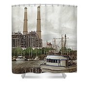 Moss Landing Shower Curtain