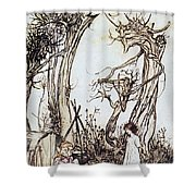 Mother Goose, 1913 Shower Curtain