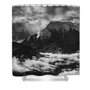 Mount Brooks Shower Curtain