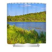 Mount Desert Island Shower Curtain