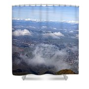 Mount Diablo State Park Shower Curtain