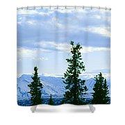 Mount Mckinley, Alaska Shower Curtain