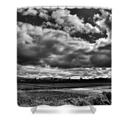 Mount Vernon Farmland - Washington State Shower Curtain