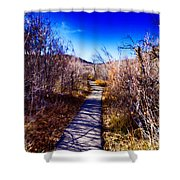 Mountain Creek Path-sundance Utah Shower Curtain