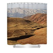 Mountain Scenary Near Zanjan In Iran Shower Curtain