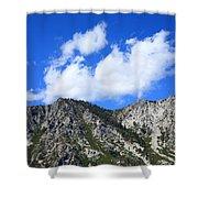 Mountainside Near Lake Tahoe Shower Curtain