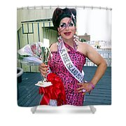Ms Fire Island Shower Curtain