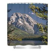 Mt. Moran And Jenny Lake Shower Curtain
