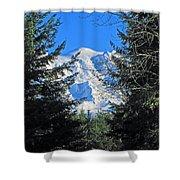 Mt. Rainier I Shower Curtain
