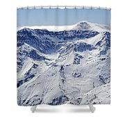 Mulhacen Shower Curtain