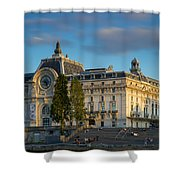 Musee D'orsay Evening Shower Curtain