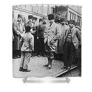 Mustafa Kemal Ataturk  Shower Curtain