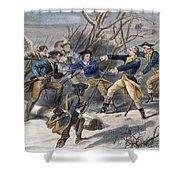 Mutiny: Anthony Wayne 1781 Shower Curtain