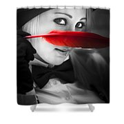 Mystery In Nature Shower Curtain